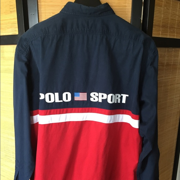 Ralph Lauren Mens Polo Sport Long Sleeve Shirt
